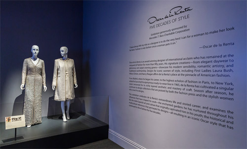 Oscar de la Renta: Five decades of style