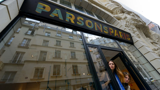 Parsons Paris with two New Graduate Programs