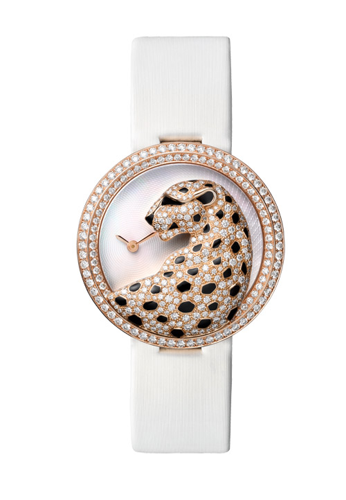 Panthère watches - a fantasy piece of jewellery