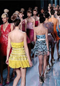 Paris Fashion Week twice a year with more than 200 fashion shows