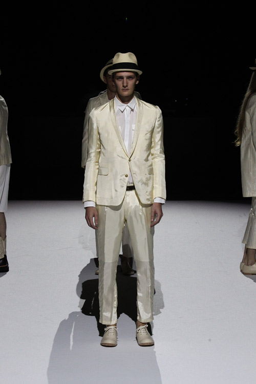 Patchy Cake Eater presented Spring/Summer 2015 during the Mercedez-Benz Fashion Week Tokyo