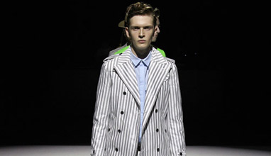 Patchy Cake Eater presented Spring/Summer 2015 collection at Mercedez-Benz Fashion Week Tokyo