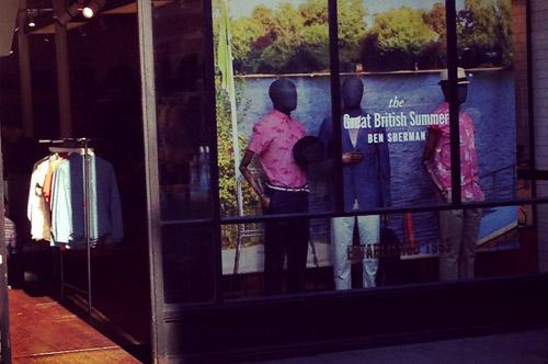 British fashion label Ben Sherman at Pitti Immagine Uomo 86