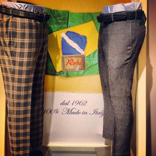 Italian menswear brand Rota at Pitti Immagine Uomo 86