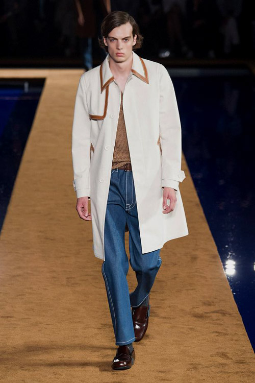 Prada Spring-Summer 2015 menswear collection at Milan Fashion Week