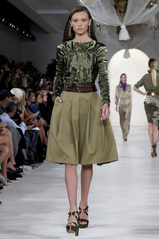 Get ready for Safari with Ralph Lauren Spring-Summer 2015 collection