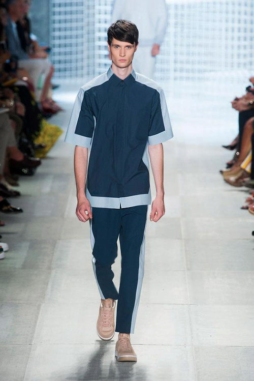 Five top trends in menswear for Spring-Summer 2014