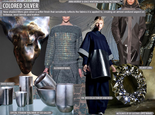 Fall-Winter 2014/2015 Fashion trends: Metallics