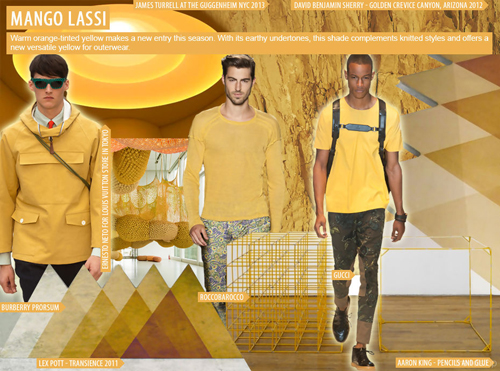 Spring-Summer 2016 Fashion trends: Menswear key colors