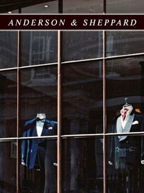 The famous bespoke Savile Row suit