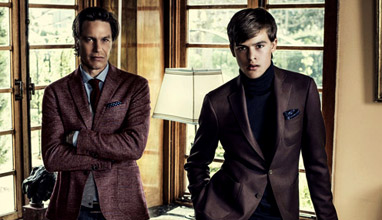 Scabal Fall-Winter 2014/2015 men's suits - right for your generation