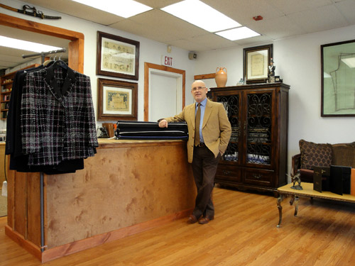 Sebastiano Montella: Give them exactly what the customers are asking for - perfectly fitting hand-made suits