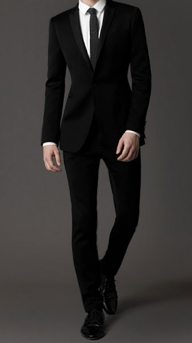 Slim Fit men's suit