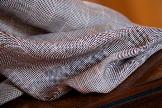 Solbiati's linen fabric collections for clothing
