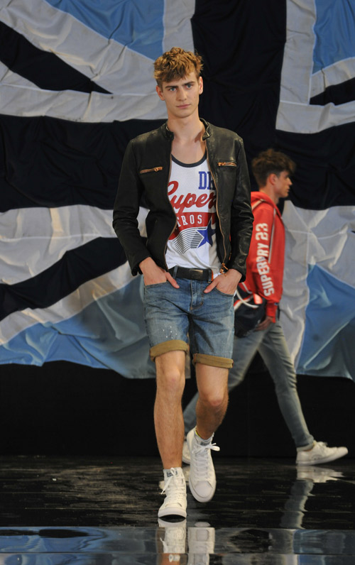 Casual wear for Spring 2015 by Superdry