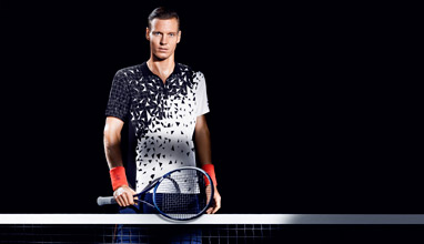 H&M unveils new tennis collection for Tomas Berdych at the London Masters