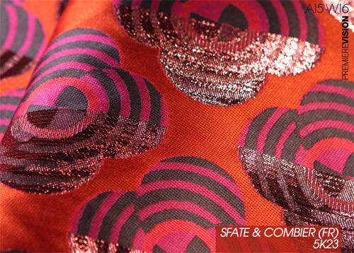 Trend Vision presents the trends in fabrics for Autumn 2015 Winter 2016