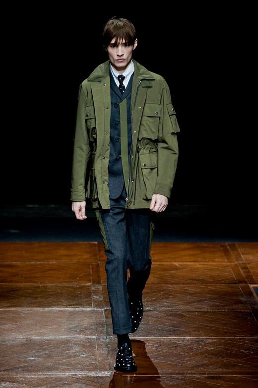 Menswear Fashion Trends Fall-Winter 2014/2015: Green