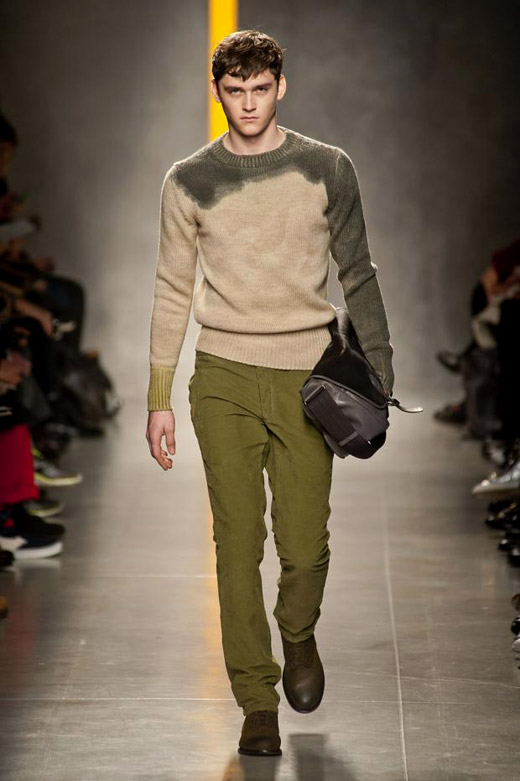 Menswear Fashion Trends Fall-Winter 2014/2015: Green