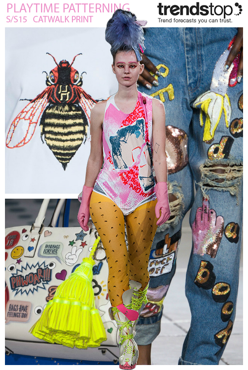 Spring Summer 2015 Fashion Trends Prints Directions