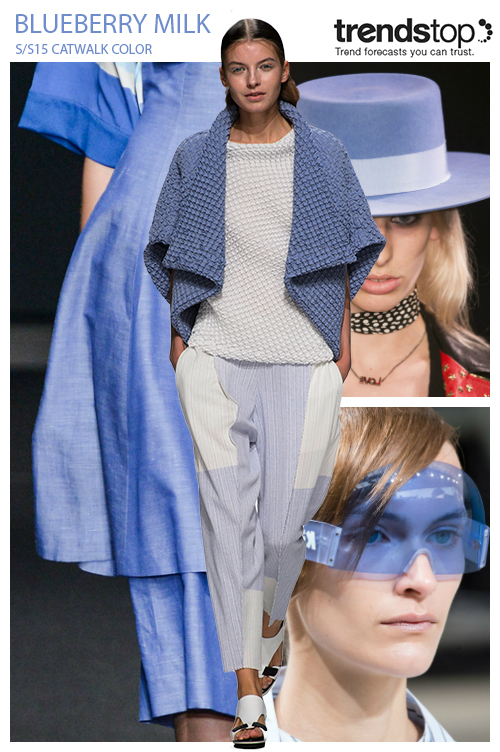 Spring-Summer 2015 Fashion trends: Key colors from the catwalks