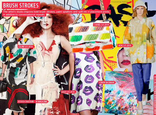apparel trend forecast report 2014 Suddenly, all those trend reports and mood boards and color forecasts were organized and filed in a way that made it easier for designers to create presentations.