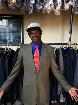 Sharp Dressed Man - Recycled suit program for men