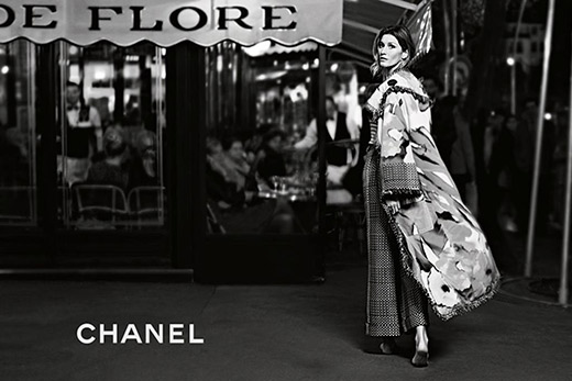 Chanel's Spring/Summer 2015 campaign: the barefoot Gisele Bundchen
